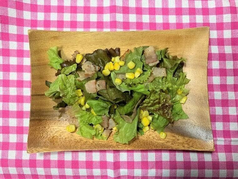 カットミールのサラダ